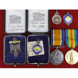 AWARDS TO Private F.C. AMBROSE ASC