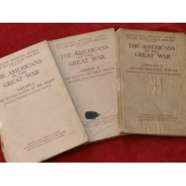 SET OF 1914-1918 MICHELIN GUIDES TO THE BATTLE-FIELDS