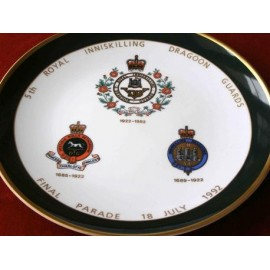 5th ROYAL INNISKILLING DRAGOON GUARDS PLATE