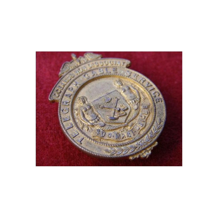 TELEGRAPH CABLE SERVICE BADGE