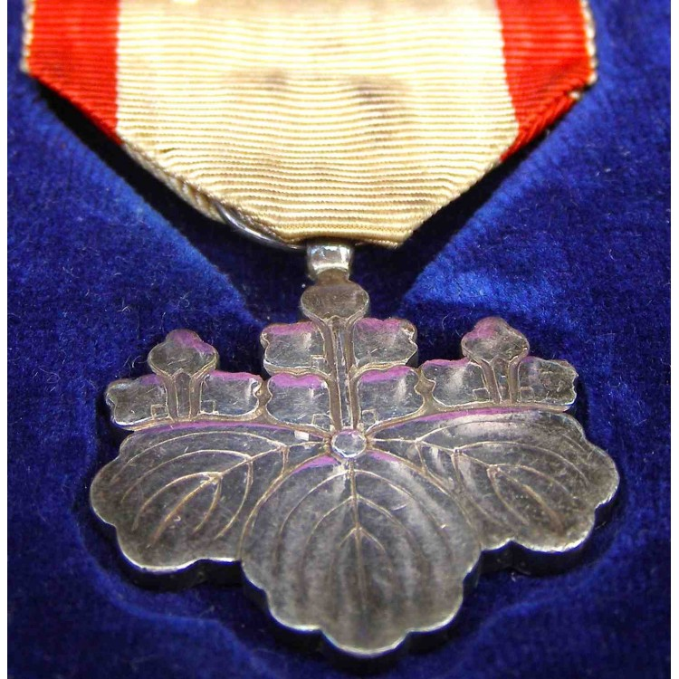 WW2 JAPANESE ORDER OF THE RISING SUN