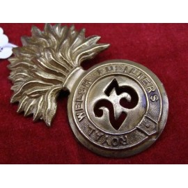 MODERN BRASS CAP BADGE