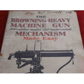 BROWNING HEAVY MACHINE GUN BOOKLET