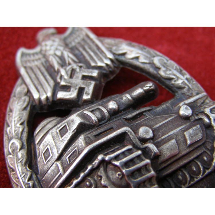 COPY SILVER PANZER BADGE